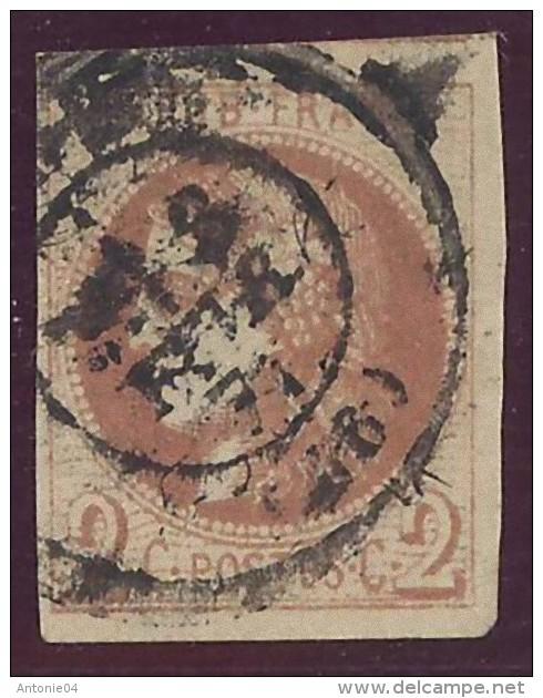France Yvert 40B Grandes Marges Avec Voisin Sans Defaut Obl. Lourde Sans Défaut Cote EUR 330 - 1870 Emission De Bordeaux