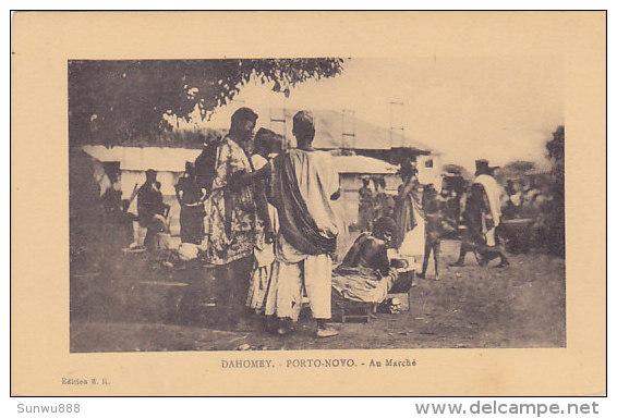 Dahomey - Porto-Novo - Au Marché (animation) - Dahomey