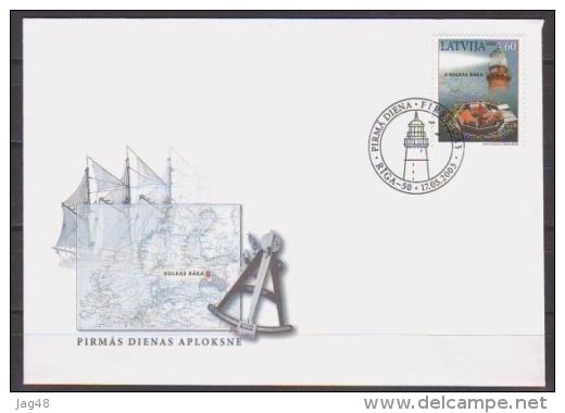 LATVIA. 2003/Lighthouse.. Fdc. - Latvia