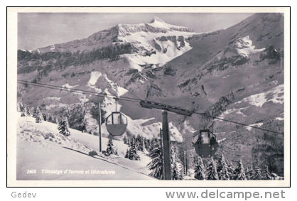 Diablerets, Télésiège D'Isenau (2466) - VD Vaud