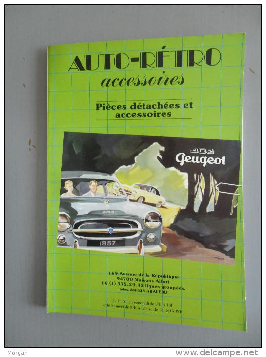 AUTOMOBILE, PEUGEOT, 403 PEUGEOT , PIECES DETACHEES ET ACCESSOIRES, CATALOGUE  AUTO-RETRO - Auto