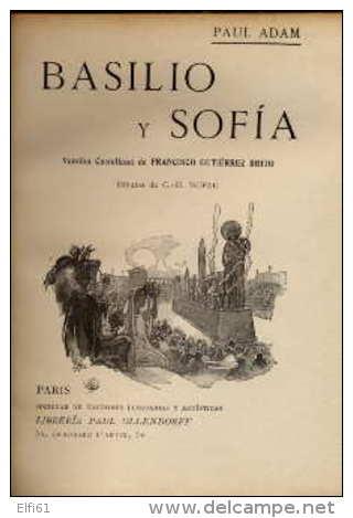"""Basilio Y Sofia"" - Paul ADAM - Culture"
