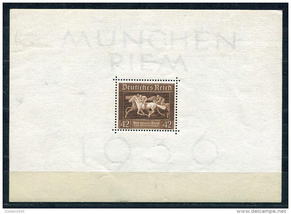 D. Reich Michel-Nr. Block 4 Postfrisch - Deutschland