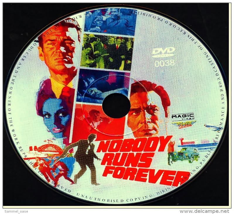 DVD  ,  Nobody Runs Forever  -  Mit : Christopher Plummer , Rod Taylor , Lilli Palmer - Policiers