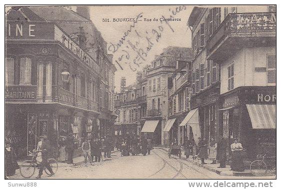 18 - Bourges - Rue Du Commerce (top Animation) - Bourges