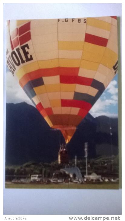 Montgolfière SAVOIE - Verso Timbre Alberville 92 Voir Scan - 300ex - Cartoline