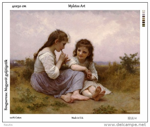 New Tapestry, Gobelin, Picture, Print, Bouguereau, Girls, Children - Other