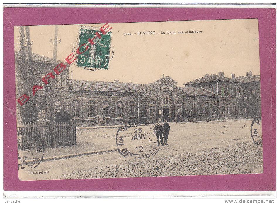 59.- BUSSIGNY .- La Gare Exterieure - Frankreich