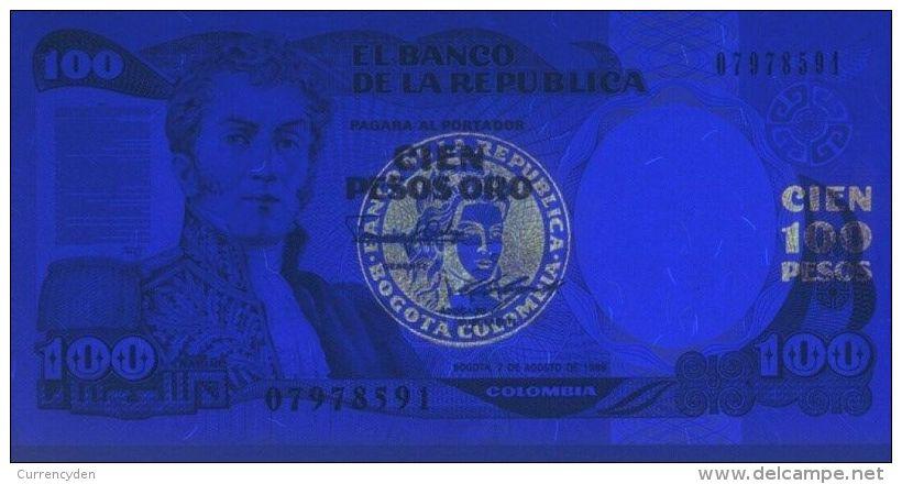 Colombia P426e, 100 Peso, Villa De Leyva (Boyaca), Old Printing Press - Colombia