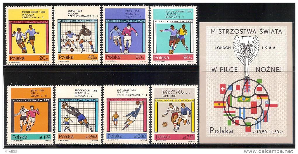 Poland 1966 - World Cup Soccer England 1966 - 1944-.... Republic