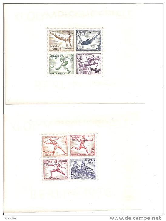 III-Block 5 + 6 Olympiade 1936 ** - Deutschland