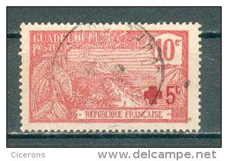 Collection GUADELOUPE ; Colonie ;  1915-17 ; Y&T N° 75 ; Lot  ; Oblitéré - Oblitérés