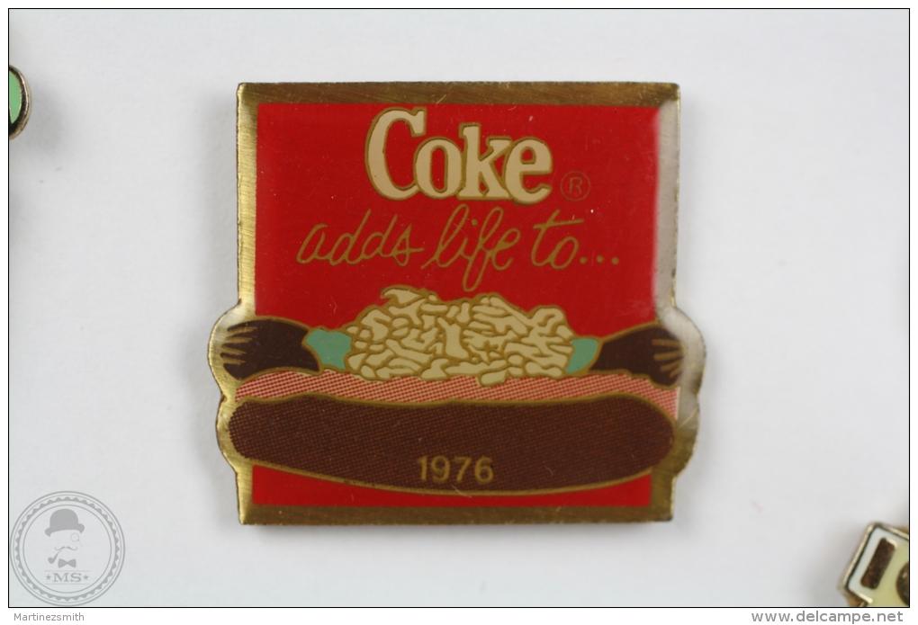 Coca Cola 1976 Advertising - Pin Badge #PLS - Coca-Cola