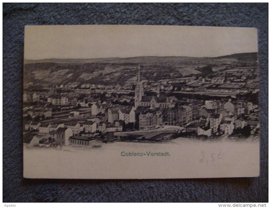 CPA Coblenz Vorstadt. - Koblenz