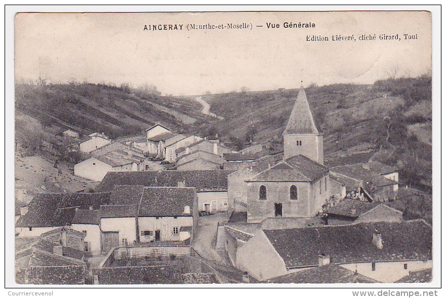 CPA - AINGERAY (Meurthe Et Moselle) - Vue Générale - Sonstige Gemeinden