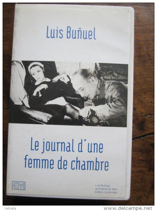 Luis Bunuel : Le Journal D'une Femme De Chambre (Cassette Vidéo VHS) Ed Montparnasse - Documentaires