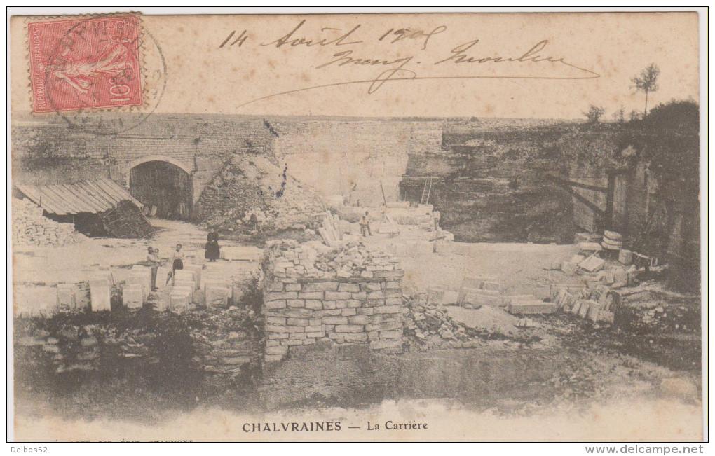 Chalvraines - La Carriére . - Autres Communes