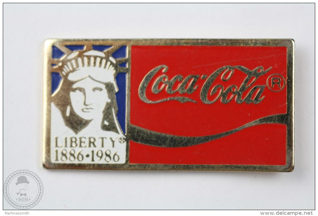 Coca Cola - Liberty Statue 1886 - 1986 - Pin Badge #PLS - Coca-Cola
