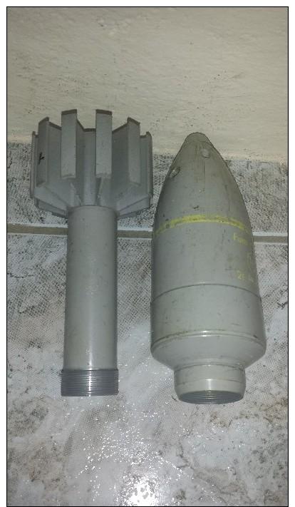 Grenade A Fusil Fumigène 50 F1 - Autres