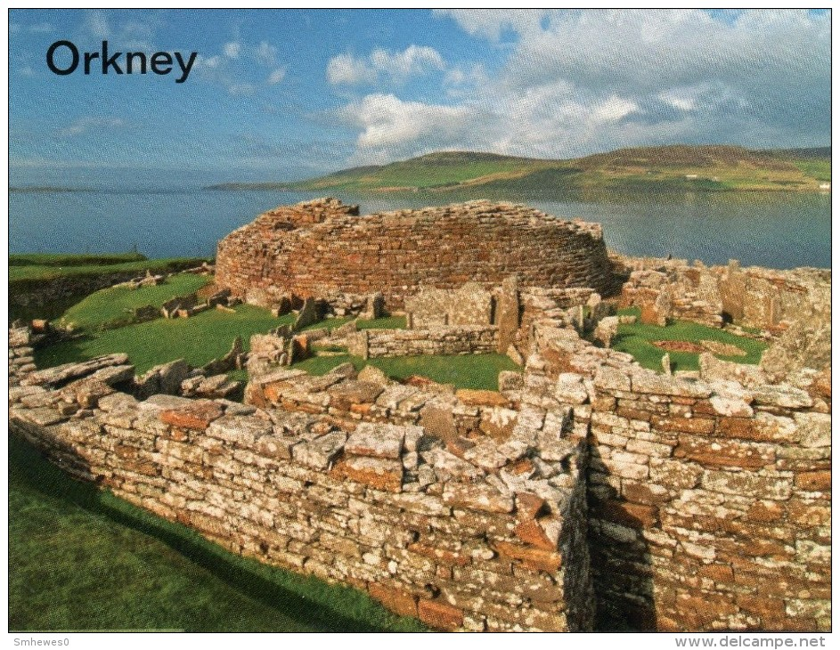Postcard - Gurness Broch, Orkney Islands. A - Buildings & Architecture