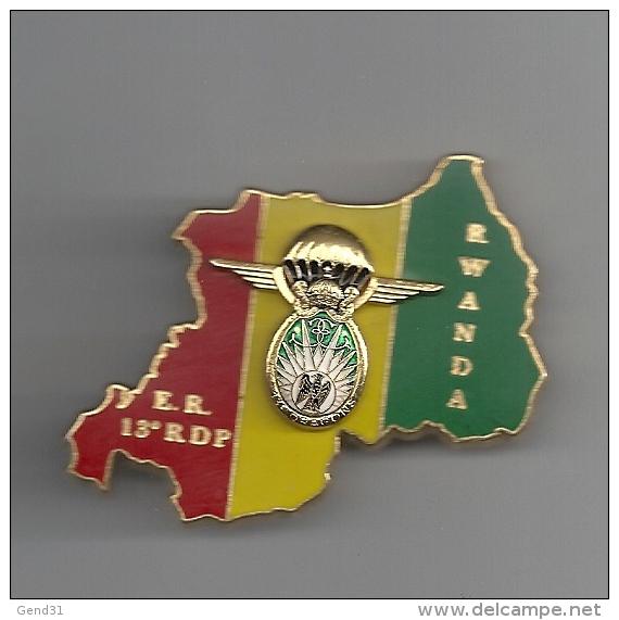 Elément De Reconnaissance Du 13ème Régiment De Dragon Parachutistes RWANDA - Unclassified