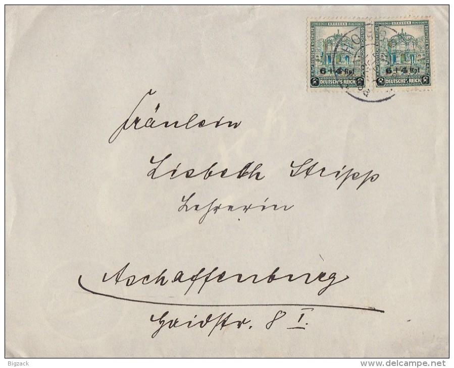 DR Brief Mef Minr.2x 463 Homburg 27.7.32 - Briefe U. Dokumente