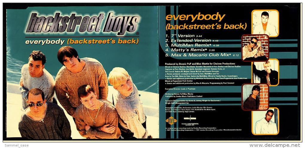 Musik CD Single -  Backstreet Boys  -  Everybody  -  Von 1997 - Disco, Pop