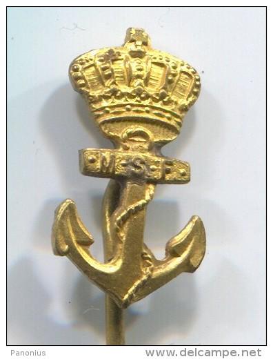 ANCHOR - Netherlands, MSF, Boat, Ship, Pin, Badge - Bateaux