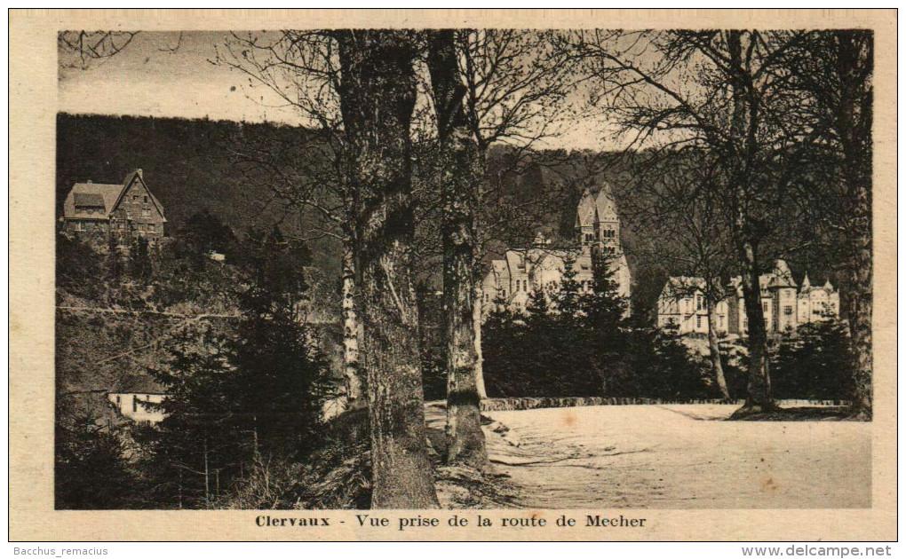 Clervaux    Vue Prise De La Route De Mecher   Edit, Jean Colling, Photographe - Clervaux