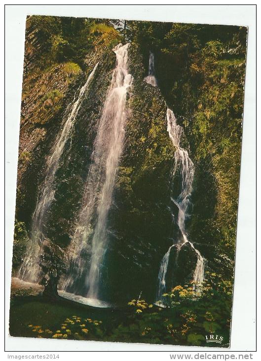 CPM CARTE POSTALE MODERNE - 63 - Puy De Dôme - Cascade - Frankrijk