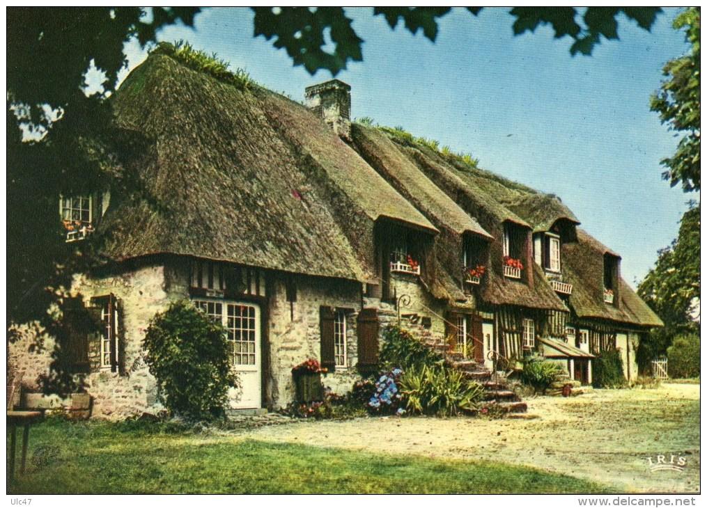 Charmant Maison Normande Au Toit De Chaume ... Idees