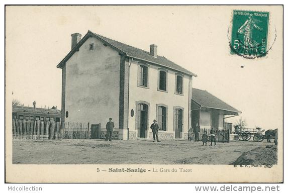 58 SAINT SAULGE / La Gare Du Tacot / - France