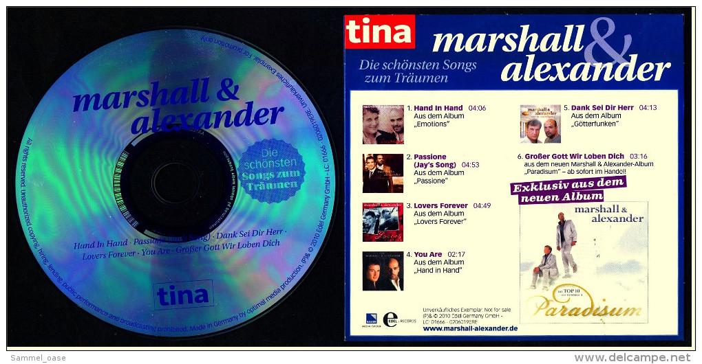CD -  Marshall & Alexander - Die Schönsten Songs Zum Träumen - Musik & Instrumente