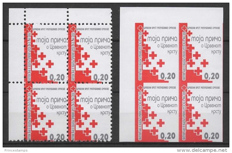Bosnia - SRB (2014) - Block Of 4 -  /  Rotes Kreuz - Red Cross - Croix Rouge - Cruz  Roja - Croce Rossa - Rode Kruis