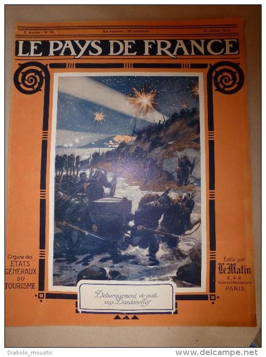 1915 Journal De Guerre :Binarville; Carency,Ablain-St-N, Saint-Cyr; La Balle Pointue; Calibre Et Forme Des Balles..etc - Revues & Journaux