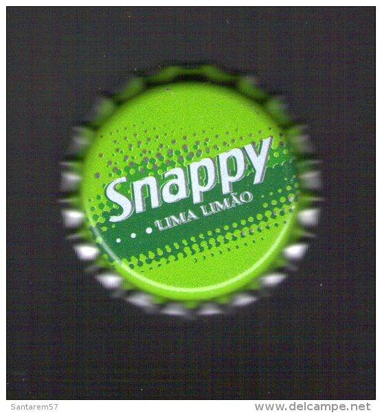 PORTUGAL Capsule Soda SNAPPY Citron Citron Vert Neuve Jamais Utilisée - Soda