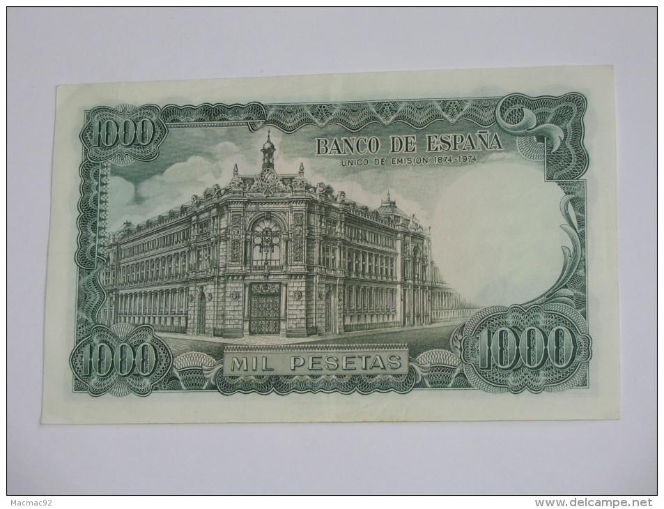 1000 Pesetas - Mil Pestas - ESPAGNE-  17.09.1971. El Banco De ESPANA **** EN ACHAT IMMEDIAT **** - [ 3] 1936-1975: Regime Van Franco
