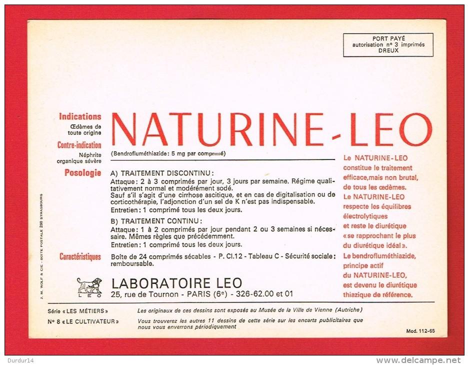 LES MÉTIERS ... LE CULTIVATEUR ... ( Laboratoire LEO De PARIS ....) - Old Paper