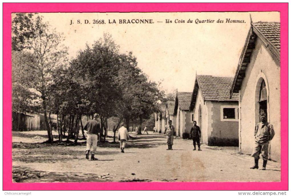 La Braconne - Un Coin Du Quartier Des Hommes - Animée - C. JEANGETTE - 1917 - France