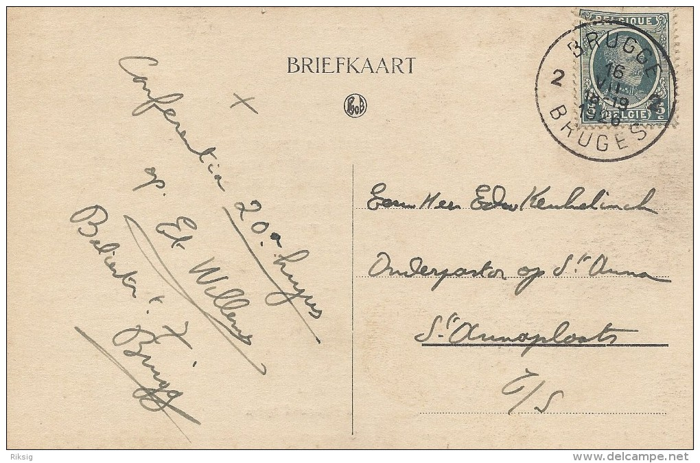 Christian Children In Mongolia. Card Used 1926  Belgium.     S- 1394 - Christendom