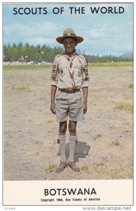 Boy Scouts Of The World, BOSTWANA, 1960´s - Botswana