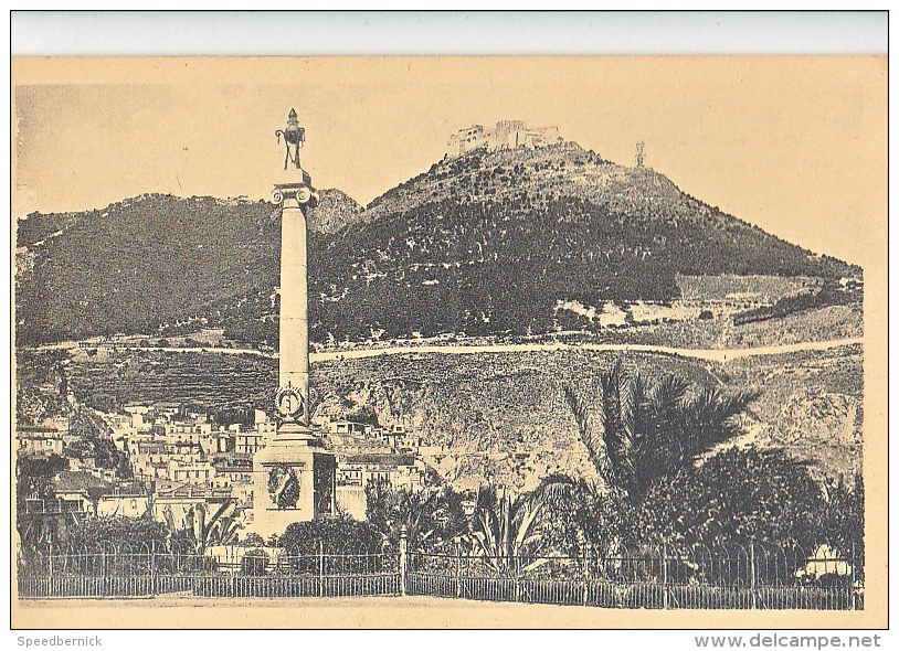 23941 ORAN - Monument Aux Morts De La Mer Et Santa Cruz. 431 La Cigogne - Oran