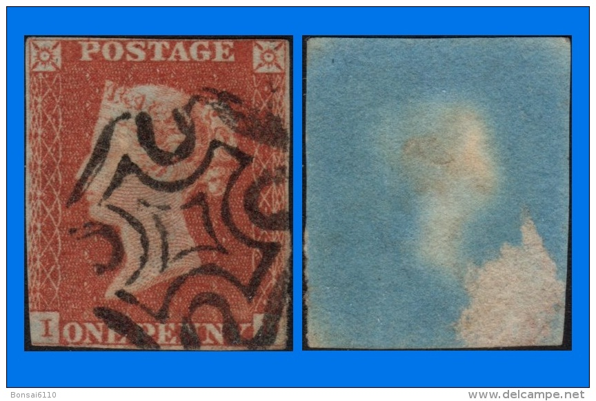 GB 1841-0093, QV 1d Red-Brown Letters I-D SG8, MC Cancel (Spacefiller) - Oblitérés