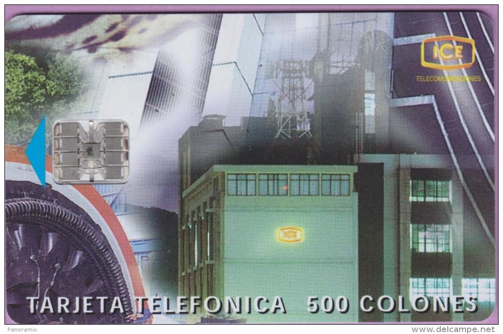 Télécarte Costa  Rica °° ICE  =  Tecnologia Al Servicio Del Clientes  °  10.1997   ***   LUXE - Costa Rica