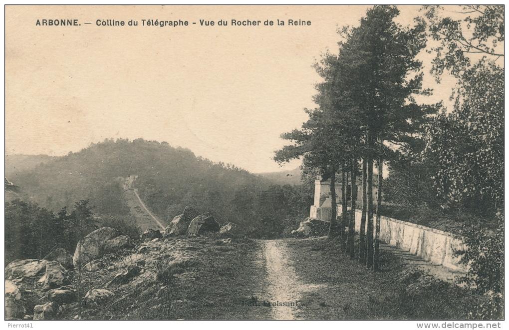ARBONNE - Colline Du Télégraphe - Vue Du Rocher De La Reine - Otros Municipios
