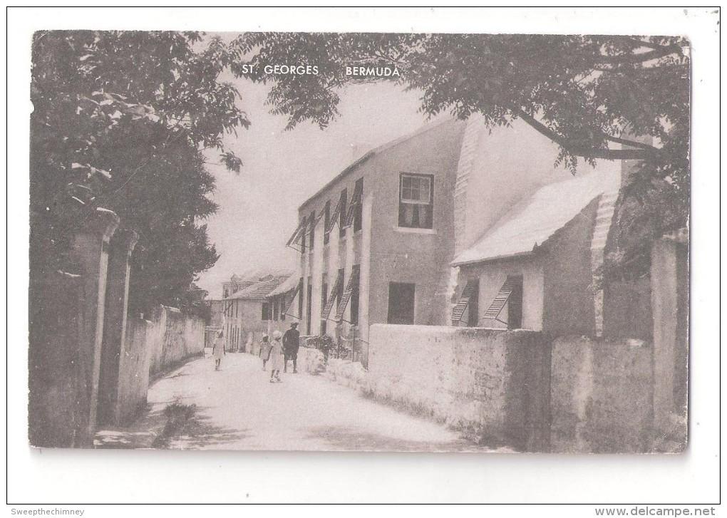 Bermuda ST. GEORGES Streetscene UNUSED ARTVUE - Bermudes