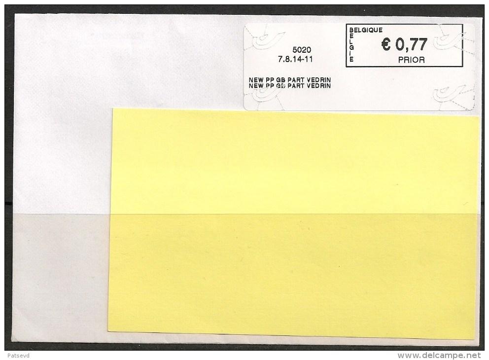Frankeervignet  Op Brief  New PP GB Part Vedrin - Vignettes D'affranchissement