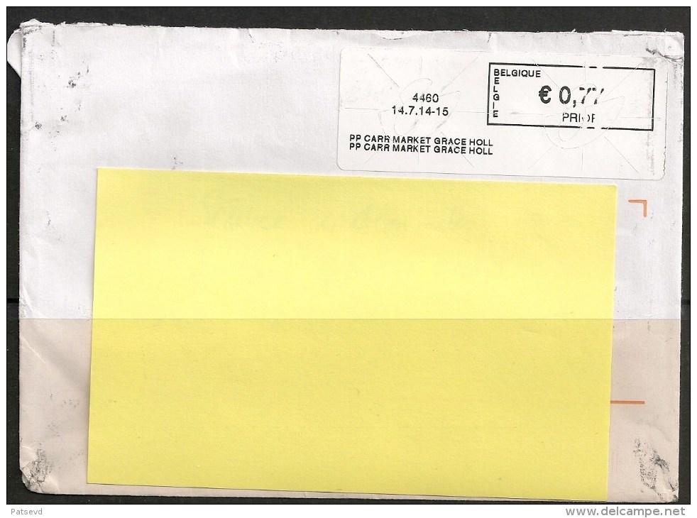 Frankeervignet  Op Brief   PP  Carr Market Grace Holl - Postage Labels