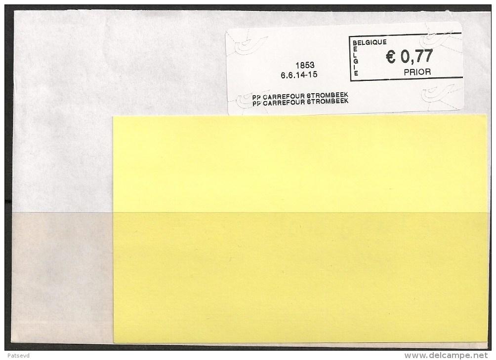 Frankeervignet  Op Brief   PP  Carrefour Strombeek - Postage Labels
