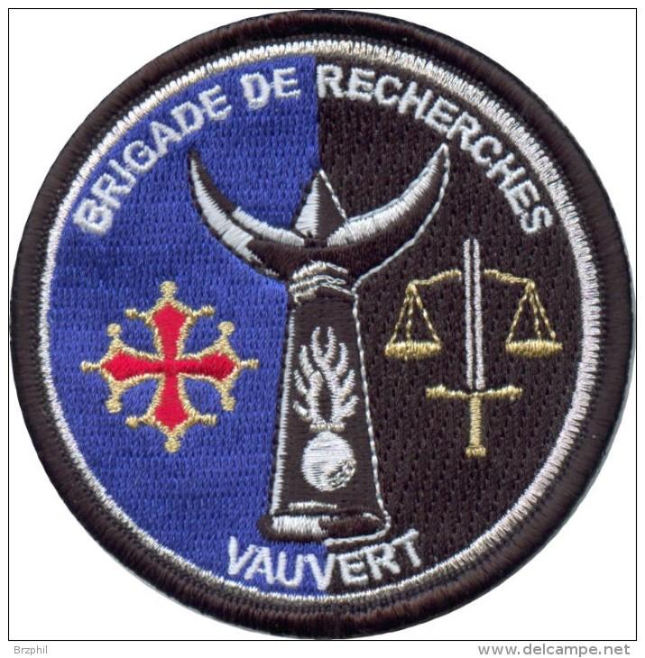 Gendarmerie - Brigade De Recherches VAUVERT 30 - Police & Gendarmerie